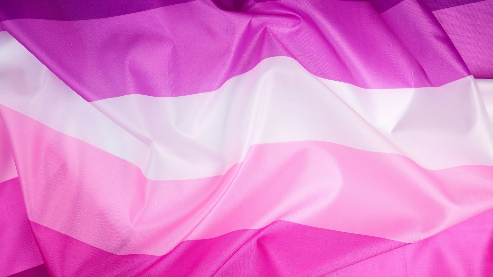 Pink flags
